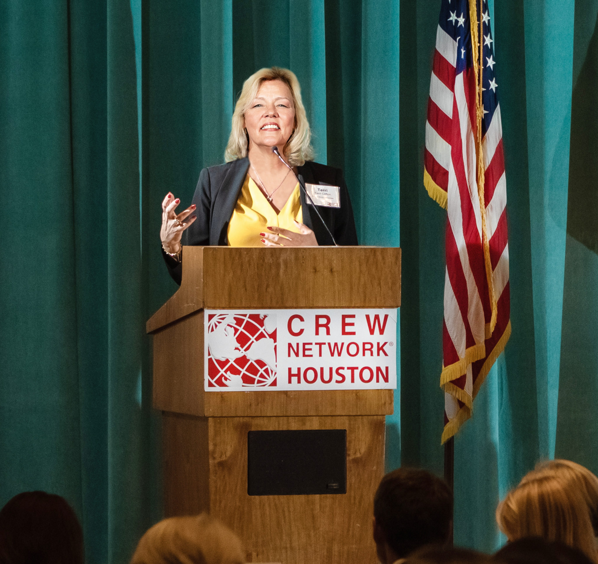 Better World Properties LLC_CREW Network Luncheon_Terri Clifton_August 2018
