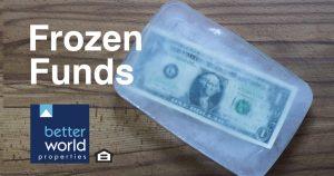 Frozen funds